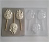 Millenial Falcon Lollipop sucker Chocolate Mold Star Wars Hans Solo