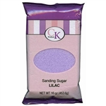 Lilac Sanding Sugar - 16 Ounce Bag