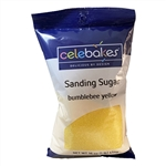 Yellow Sanding Sugar - 16 Ounce Bag