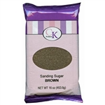 Brown Sanding Sugar 16 Ounce Bag  7500-78300N handbag purse belt shoes