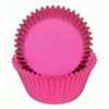 Pink Round Baking Cups Valentine cancer awareness girl