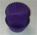 Purple Round Baking Cups