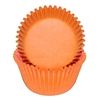 Orange Round Baking Cups