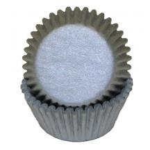 Silver Paper Baking Cups - 100 Pack