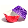 1/2 Ounce Pink & Purple Foil Candy Cups