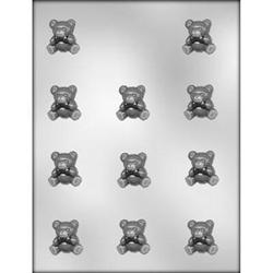 "1-1/8"" Teddy Bear Mold"