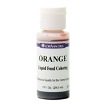 Orange Liquid Food Coloring