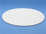 "4"" Round White Cake Pad birthday cake anniversary wedding"