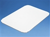 "9-13/16"" X 7-1/4"" White Rectangle Cake Pad"