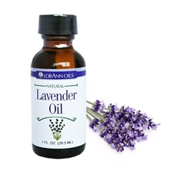 Natural Lavender Oil - 1 Ounce