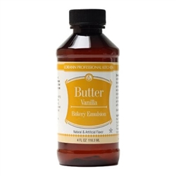 Butter Vanilla Emulsion - 4 Ounces