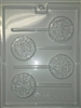 Dart Board Lolly Mold