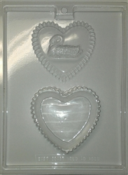 Heart with Swan Pour Box Mold