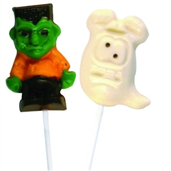 Silly Monster Halloween Pops Chocolate Mold