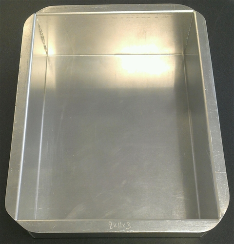 rectangle wedding cake pans rectangle aluminum pan 10 quot x 15 quot x 2 quot magic line pob10152 19058