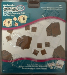 Game Time Assortment Mold