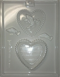 Dove Heart Pour Box Mold wedding welcome bag