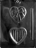 Heart with Bow Pour Box Mold