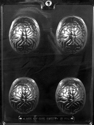 Human Brain Chocolate Mold