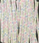 "4"" Baby Paper Twist Ties - 50 Pack"