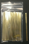 "4"" Gold Metallic Twist Ties - 100 Pack"