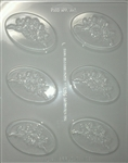 Cherub Rose Garland Mold