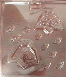 Rose Pour Box Flowers Mold