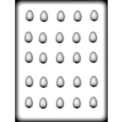 Jelly Bean Egg Hard Candy Mold