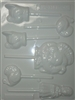 Turkey and Pilgrim Sucker Hard Candy Mold