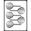 Santa Face Hard Candy Mold