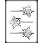 3-1/8' Radiant Star Hard Candy Mold
