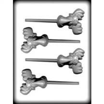 Moose Head Sucker Hard Candy Mold