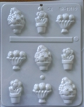 Basket Assortment Hard Candy Mold spring garden