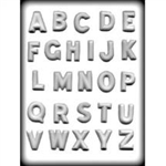 Alphabet Hard Candy Mold