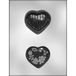 "3-1/4"" Heart Box Mold"