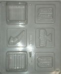 Jewish Assortment Pour Box Mold