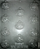 "1-5/8"" Pumpkin Chocolate Mold Halloween fall Thanksgiving fruit vegetable"
