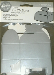 Small Wilton Silver Truffle Boxes