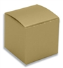 Small Gold Lustre Truffle Candy Boxes - 5 Pack
