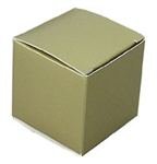 Medium Gold Lustre Truffle Box- 5 Pack