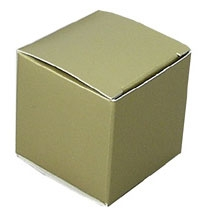 Medium Gold Lustre Truffle Candy Boxes