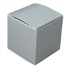 Large Silver Lustre Truffle Candy Boxes