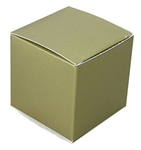 Large Gold Lustre Truffle Box- 5 Pack