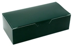 One Pound Forest Green Candy Boxes
