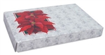One Pound Poinsettia Candy Boxes