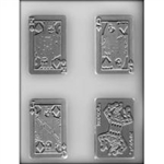"3-1/2"" Playing Card Mold"