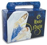Half Pound Tote Holy Night Candy Boxes