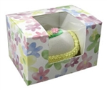 One Pound Watercolor Daisy Window Candy Boxes