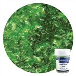Green Edible Glitter Flakes - .25 Ounce