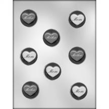 Mother Heart Mint Chocolate Mold Valentine Day birthday 90-13712